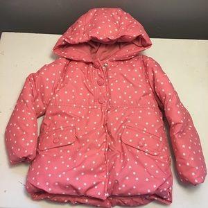 Gymboree Girls 2T-3t Spring Jacket Pink Stars